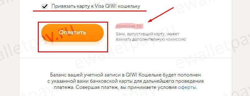 Привязка банковской карты к QIWI кошельку