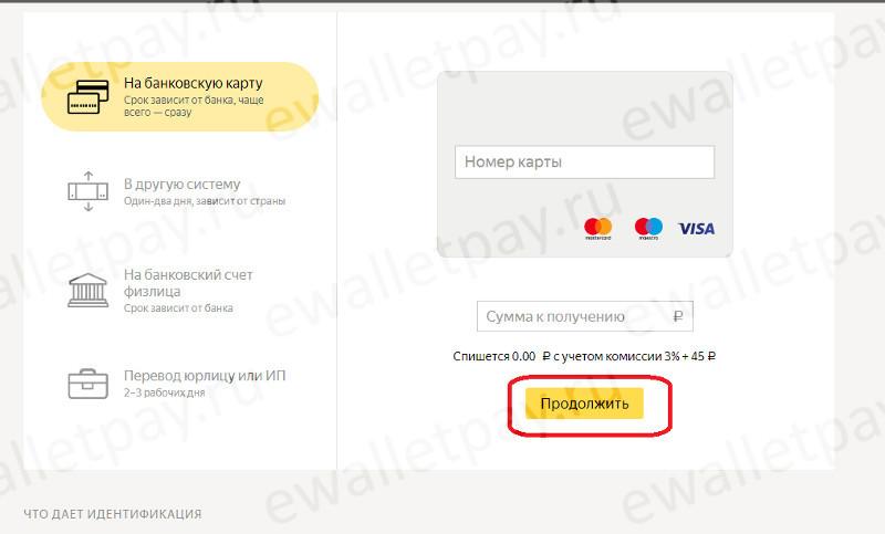 Пополнение карты Сбербанка из Яндекс.Деньги без привязки